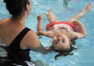Seahorses swiming lessons