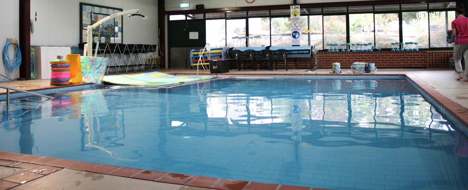 Swim school for babies